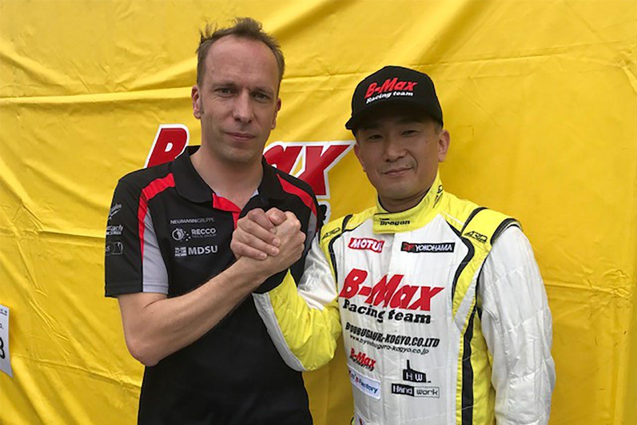 OFFICIEL: B-MAX with Motopark La première équipe européenne de l'histoire depuis plus de 20 ans, participera dès 2019, à la saison Super Formula Nippon.
