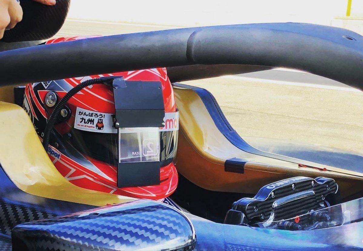 Nobuharu Matsushita Docomo Dandelion Racing Honda Dallara SF19 www.formulanippon-fr.com